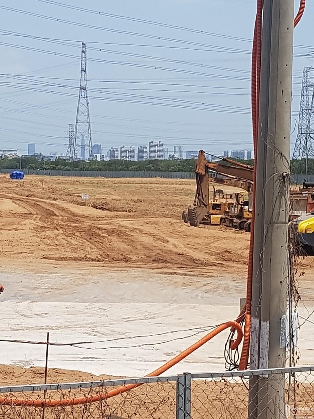 Tiến độ xây dựng dự án căn hộ Zeitgeist Nhà Bè 03/2020