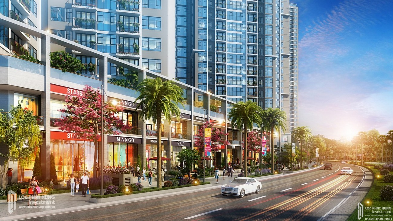Tiện ích dự án Căn Hộ chung cư Green Square Dĩ An Đường QL 1K chủ đầu tư TBS Land