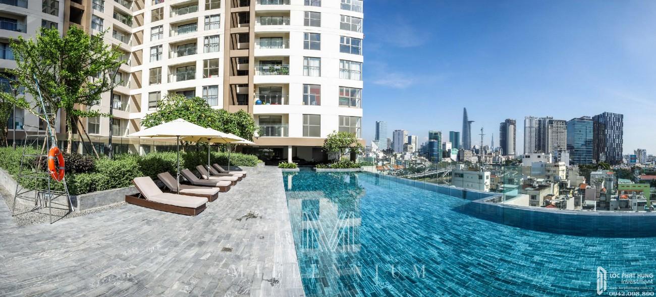 Tiện ích dự án căn hộ chung cư Masteri Millennium Quận 4 Đường 132 Bến Vân Đồn chủ đầu tư Thảo Điền