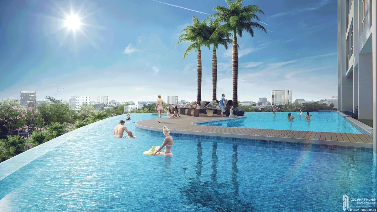 Tiện ích Opal Skyline Thuận An Đường Quốc lộ 13 chủ đầu tư Đất Xanh Group