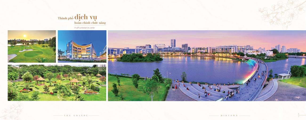 Tiện ích dự án căn hộ chung cư The Symphony Phú Mỹ Hưng Quận 7 Đường Đường 16 chủ đầu tư Phú Mỹ Hưng