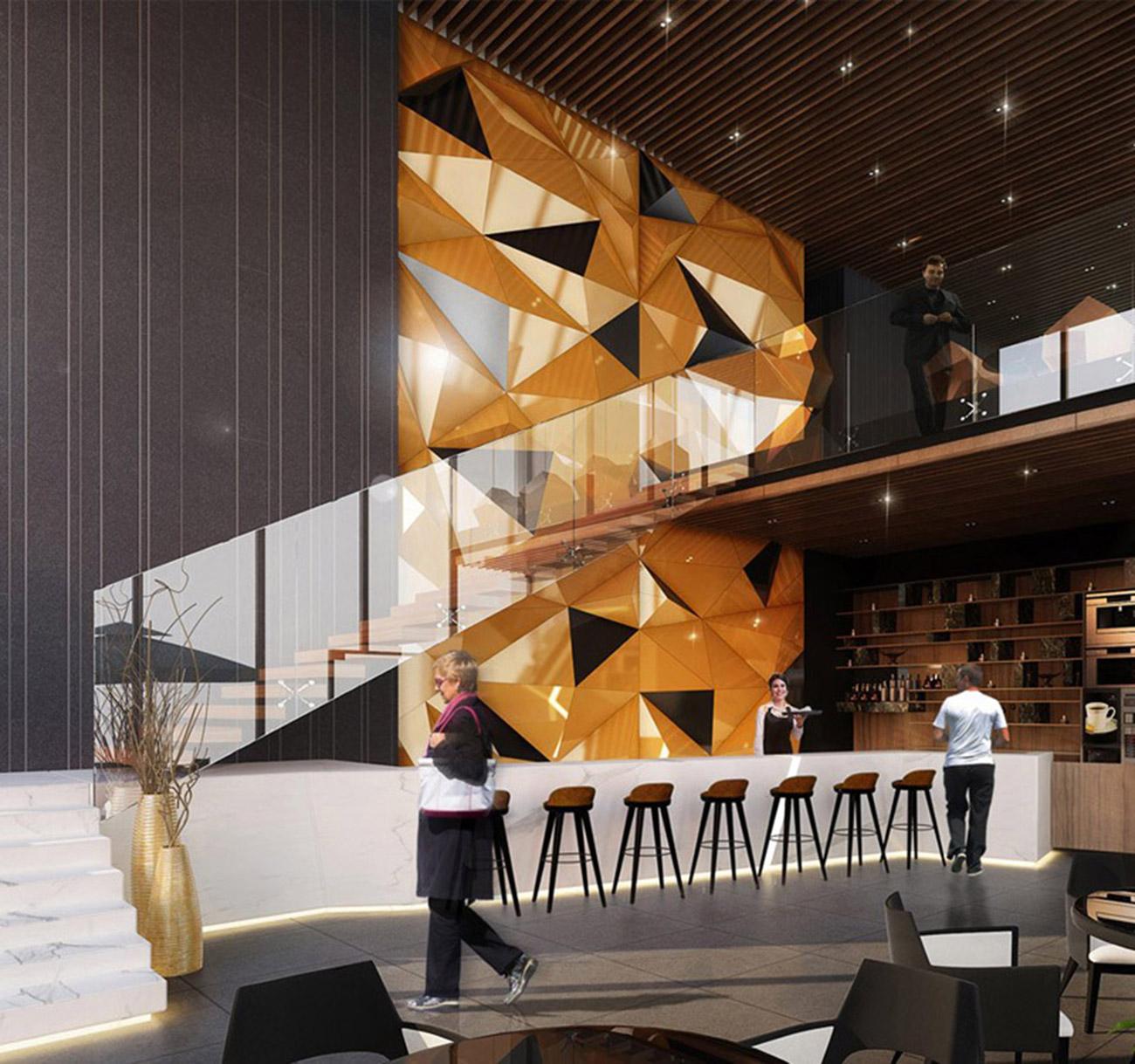 Khu cafe sang trọng tại Dự án Gem Riverside