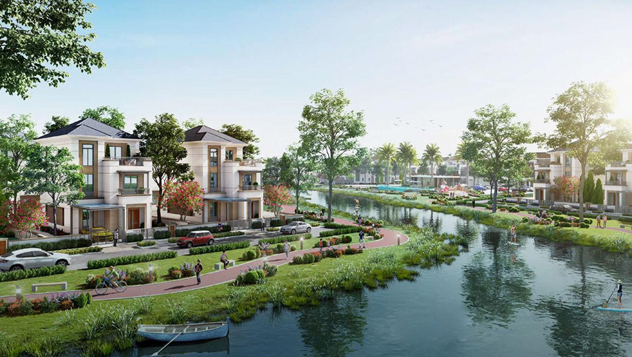 Tiện ích đẳng cấp tại dự án khu đô thị nhà phố, đất nền, biệt thự Aqua City Đồng Nai