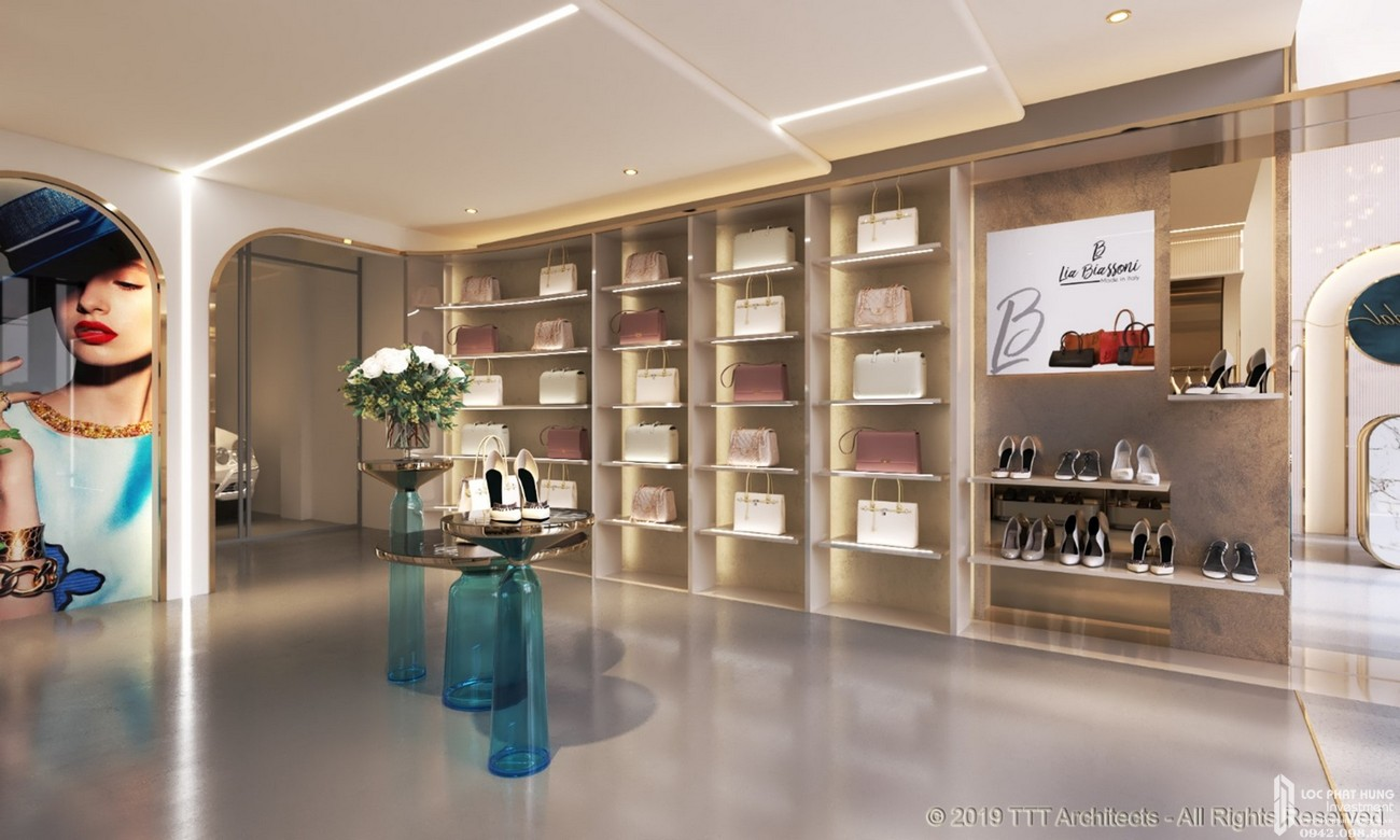 Nhà mẫu dự án Nhà phố Diamond Central Biên Hòa Đường Võ Thị Sáu chủ đầu tư Gotec Land
