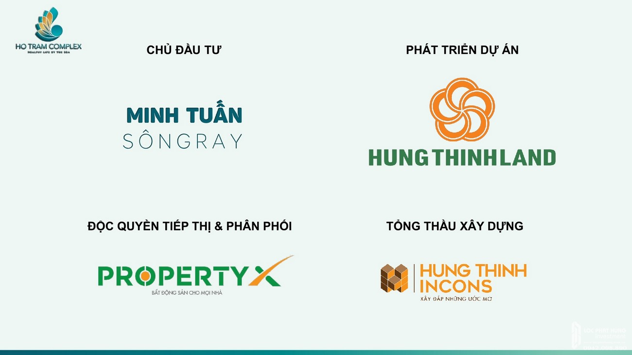 Chủ đầu tư dự án condotel Hồ Tràm Complex Vũng Tàu
