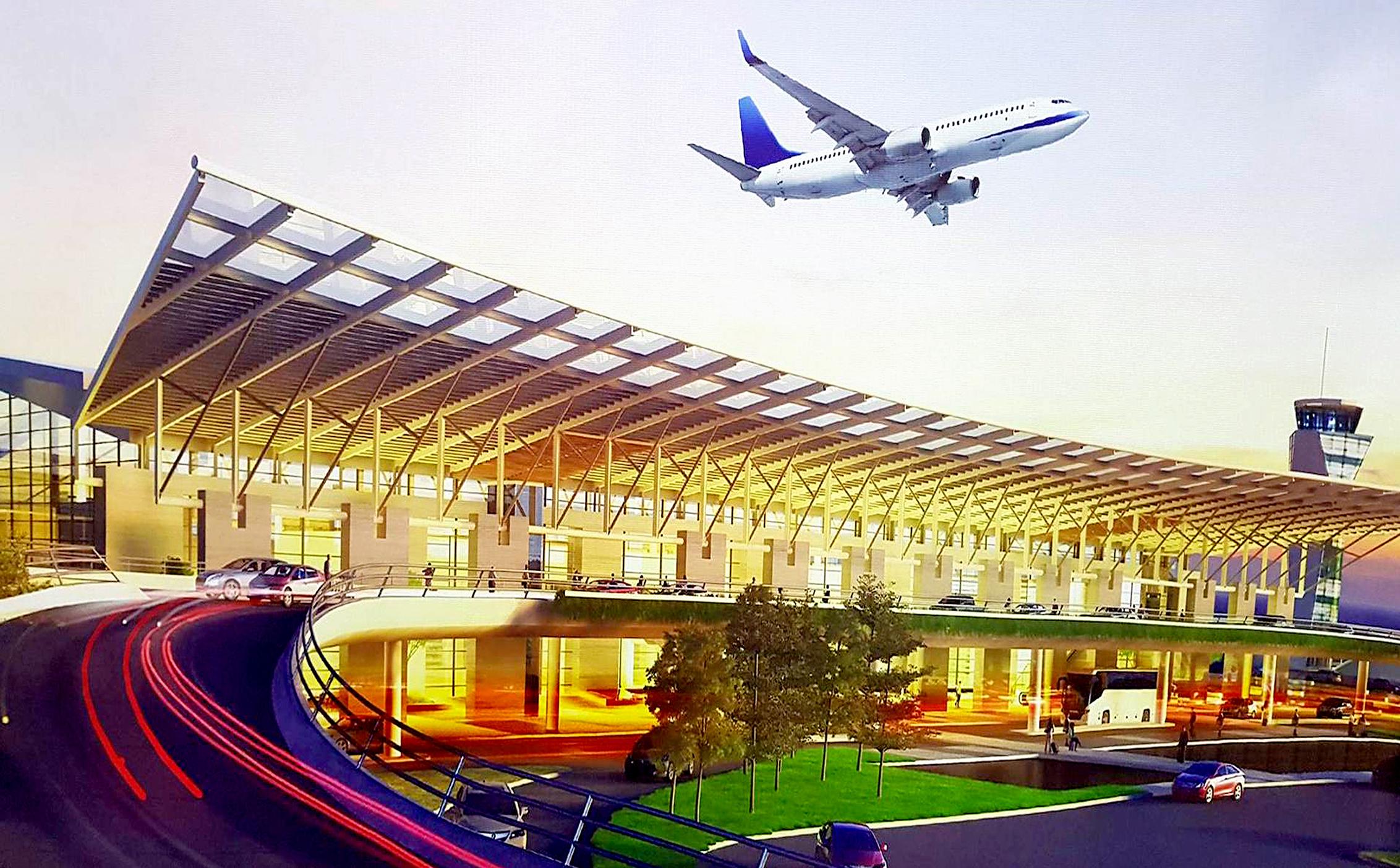 Phối cảnh dự án Sân bay Quốc Tế Long Thành