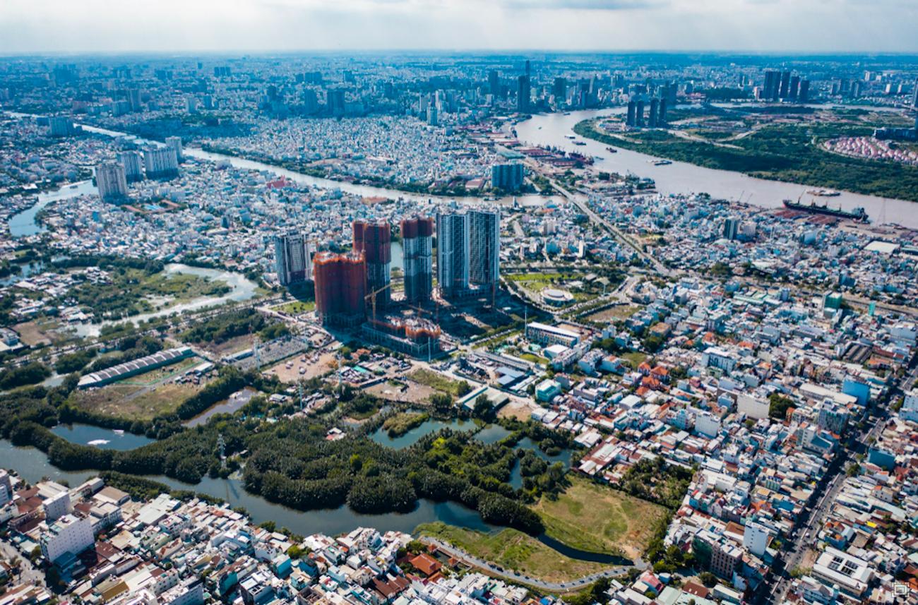 Eco Green Saigon nổi bật trong khu dân cư sầm uất thuộc Quận 7, TP. HCM