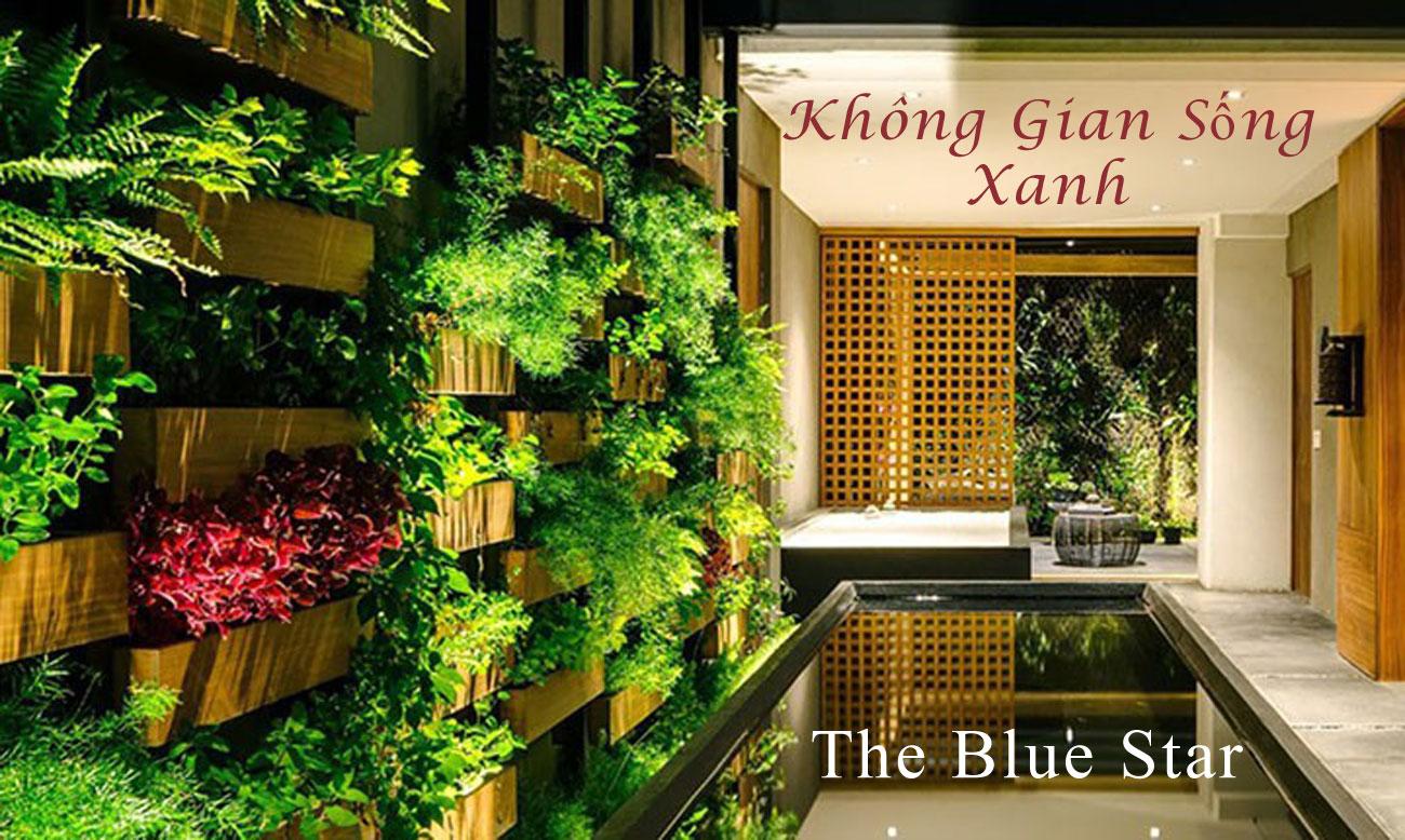 Không gian sống xanh đẳng cấp tại The Blue Star
