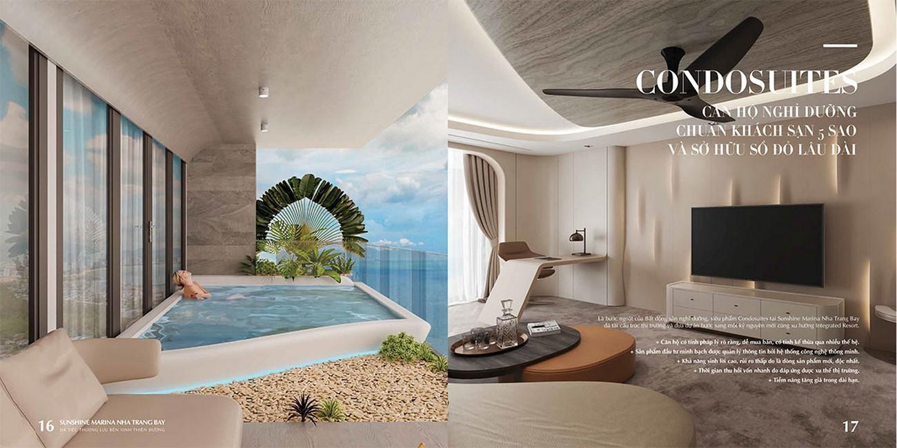 Nhà mẫu dự án Sunshine Marina Nha Trang Bay TP Nha Trang