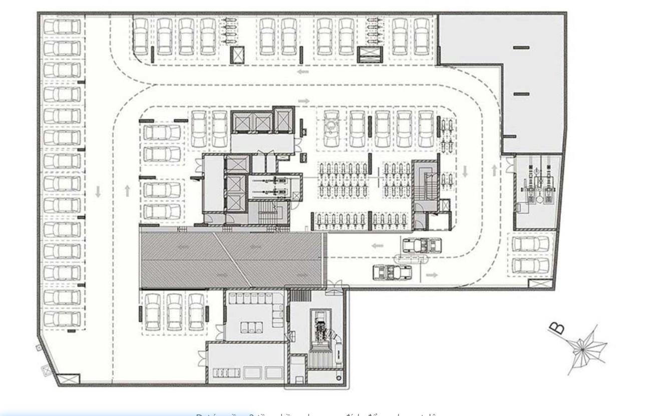 Mặt bằng dự án căn hộ chung cư ST Moritz Thu Duc Đường Phạm Văn Đồng chủ đầu tư Đất Xanh