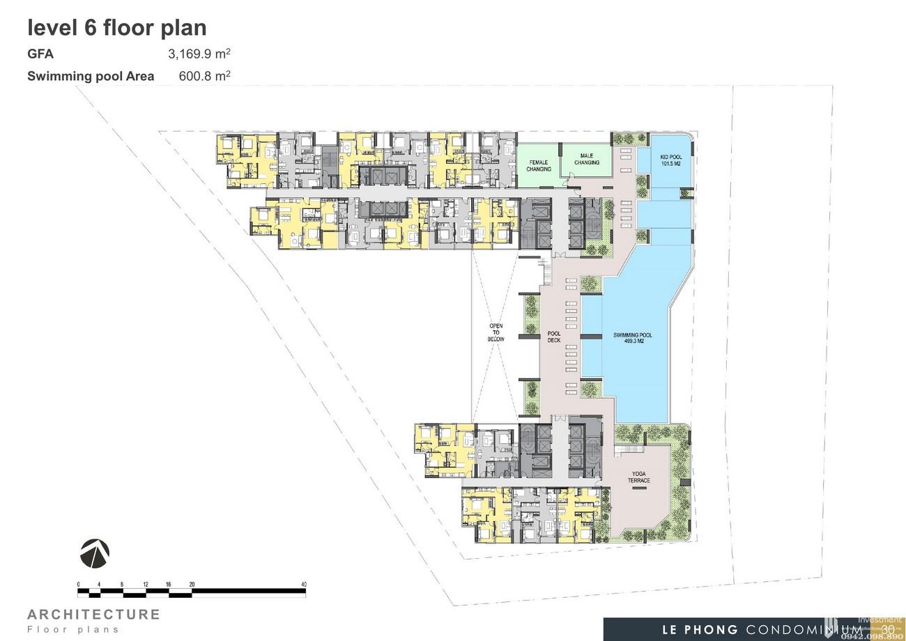 Mặt bằng thiết kế dự án căn hộ chung cư The Emerald Golf View Bình Dương