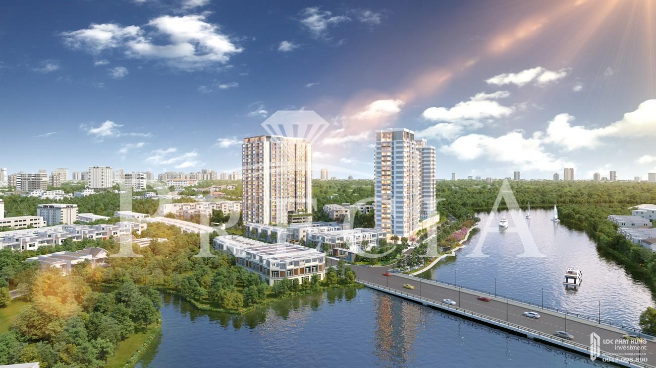 Mua bán cho thuê dự án căn hộ chung cư Precia Quận 2 Đường Nguyễn Thị Định chủ đầu tư Minh Thông