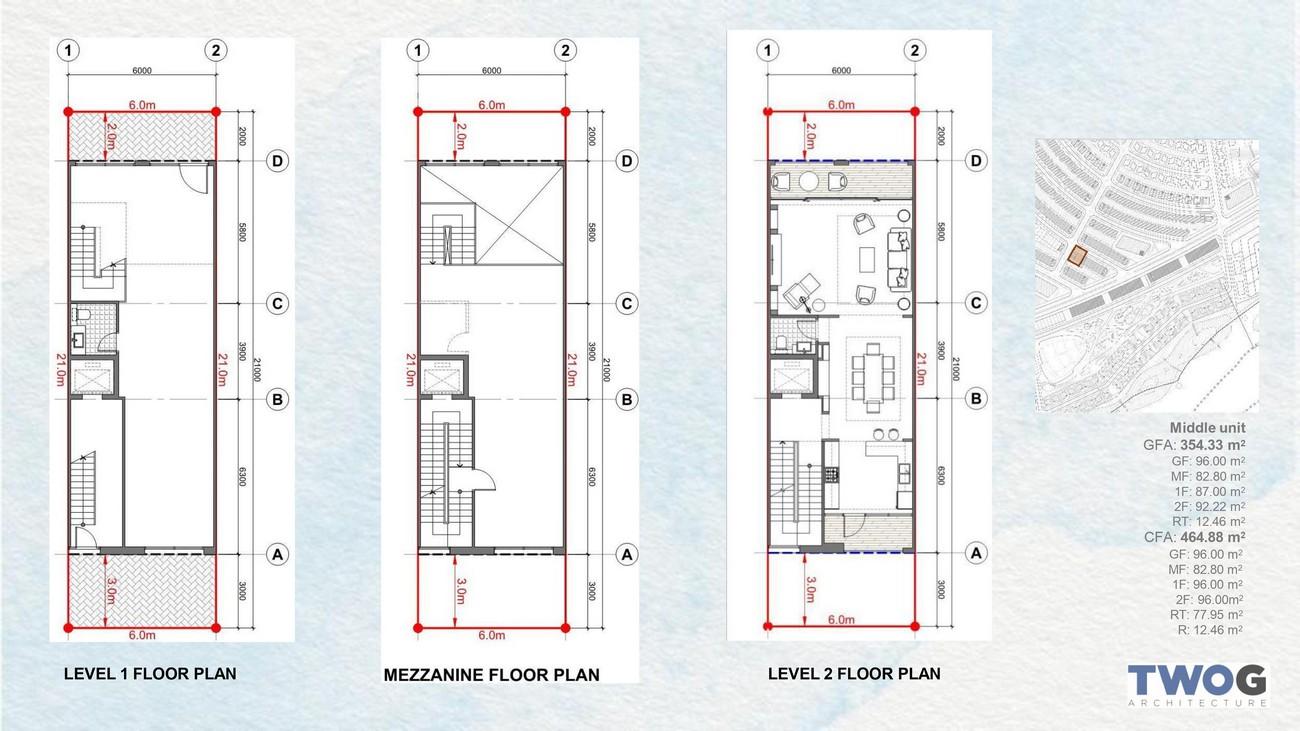 Thiết kế shophouse Merry City Quy Nhơn