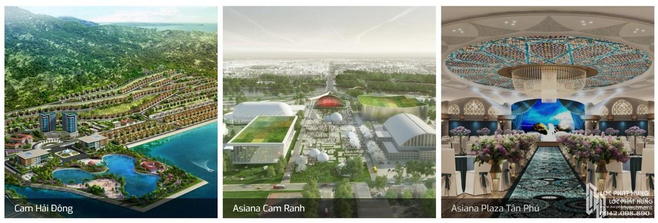 Một số dự án chủ đầu tư dự án Saigon Asiana Quận 6 đã và đang triển khai xây dựng.