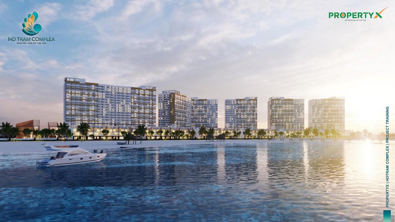 Phối cảnh tổng thể dự án căn hộ Hồ Tràm Complex Hưng Thịnh tại Bà Rịa