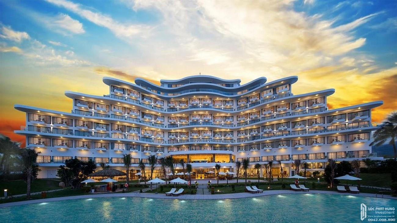 Phối cảnh tổng thể dự án căn hộ Cam Ranh Riviera Beach Resort & Spa chủ đầu tư Crystal Bay.