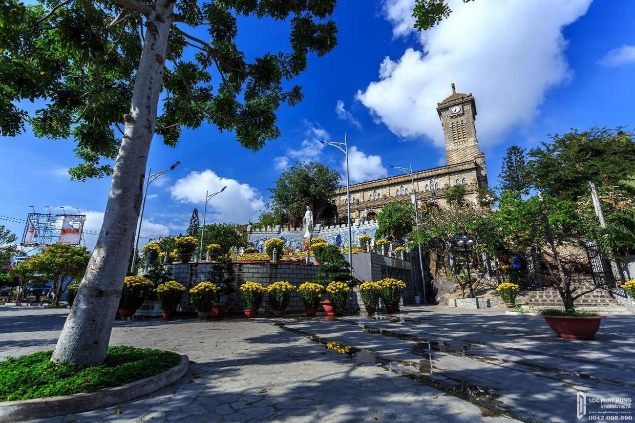 Nhà Thờ Đà nổi tiếng tại Tp biển Nha Trang
