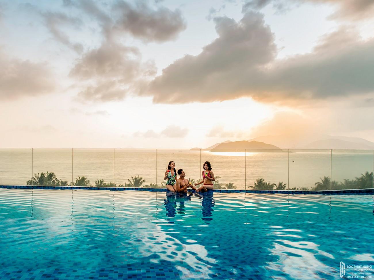 Tiện ích dự án Condotel Vinpearl Condotel Beachfront Lộc thọ Đường Trần Phú chủ đầu tư Tập đoàn Vin Group