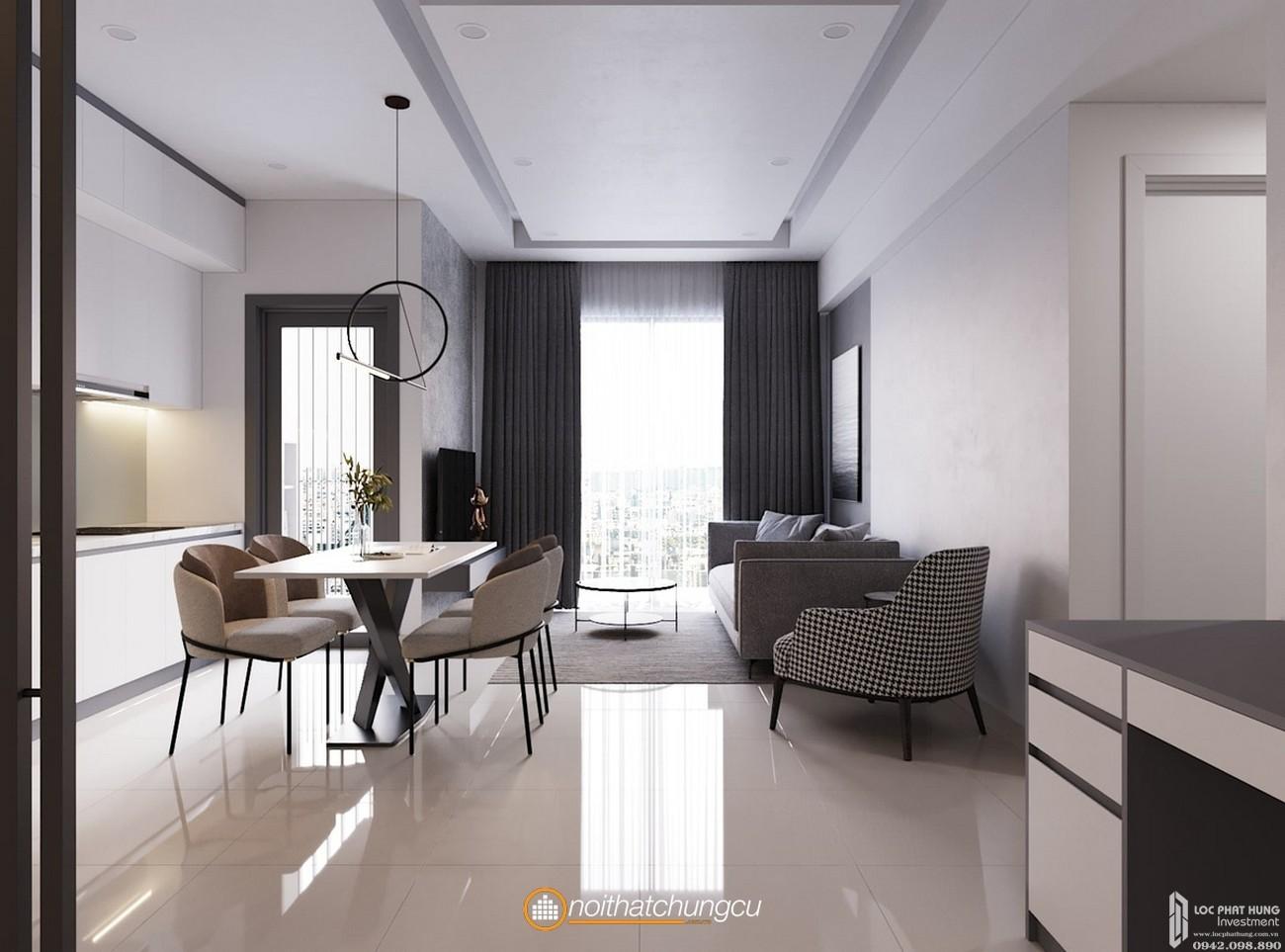 Nhà mẫu dự án căn hộ chung cư Venus Luxury Quận 5 Số 66 Đường Tân Thành chủ đầu tư Tân Thành