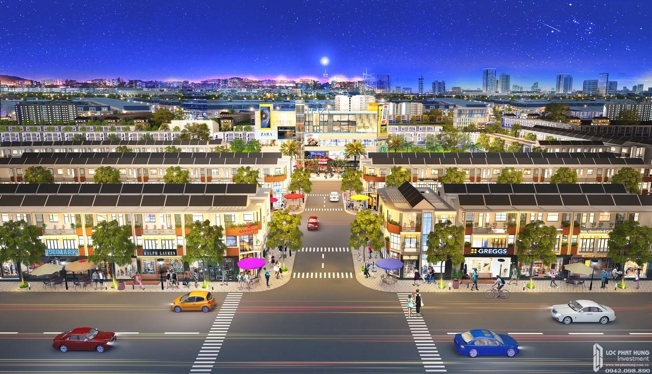 Nhà mẫu dự án đất nền nhà phố Bình Dương Avenue City Bến Cát Đường Quốc lộ 13 chủ đầu tư Phú Cường