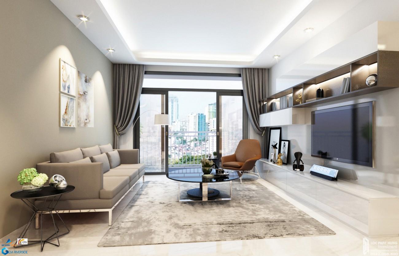 Nhà mẫu dự án căn hộ Lux Riverview Quận 7