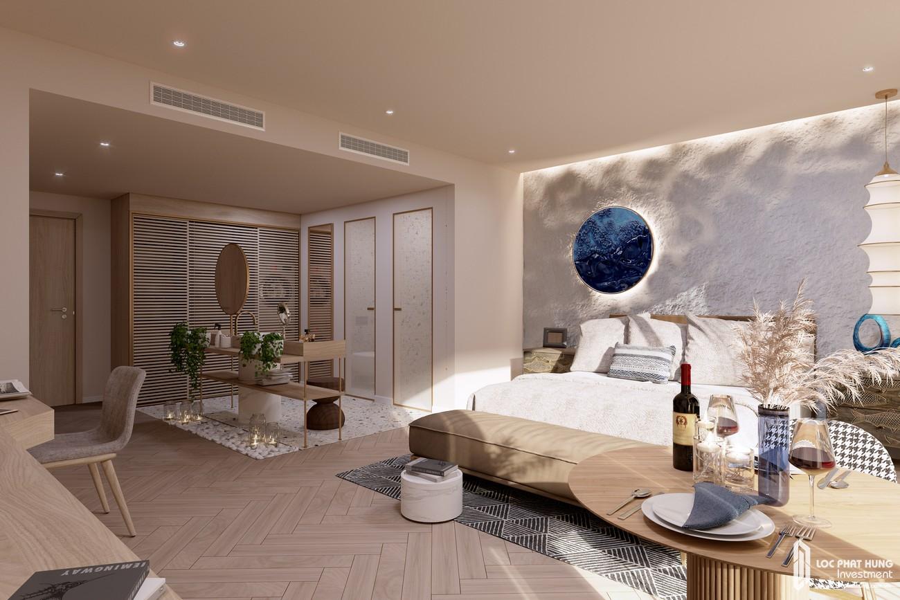Nhà mẫu dự án căn hộ nghĩ dưỡng Hồ Tràm Complex Bà Rịa Vũng Tàu loại 1 phòng ngủ chủ đầu tư Hưng Thịnh