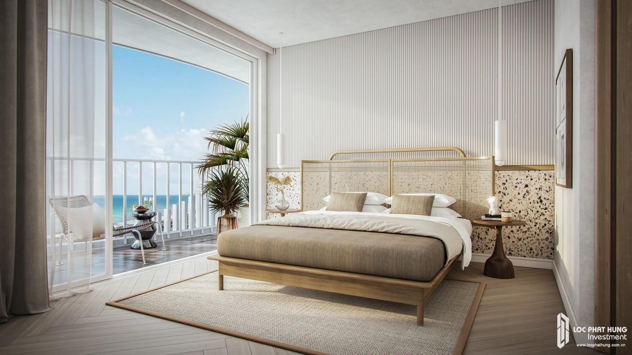 Thiết kế căn hộ mẫu Hồ Tràm Pearl loại 3 phòng ngủ