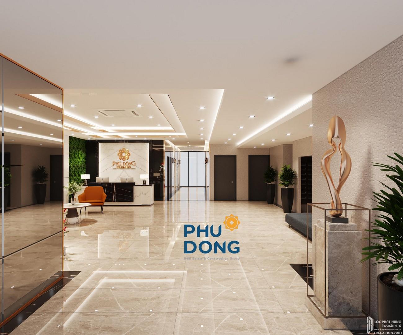 Sảnh dự án căn hộ Phú Đông Premier Bình Dương