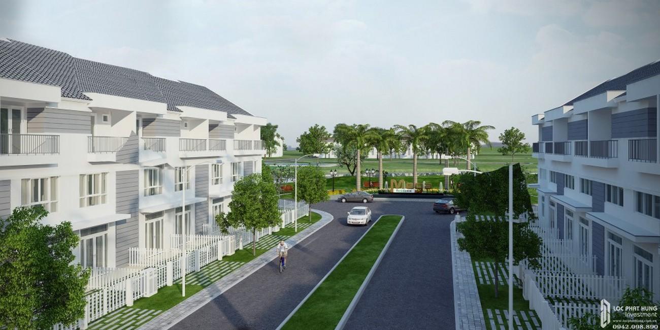 Nhà mẫu dự án nhà phố Mega Ruby Quận 9 chủ đầu tư Khang Điền