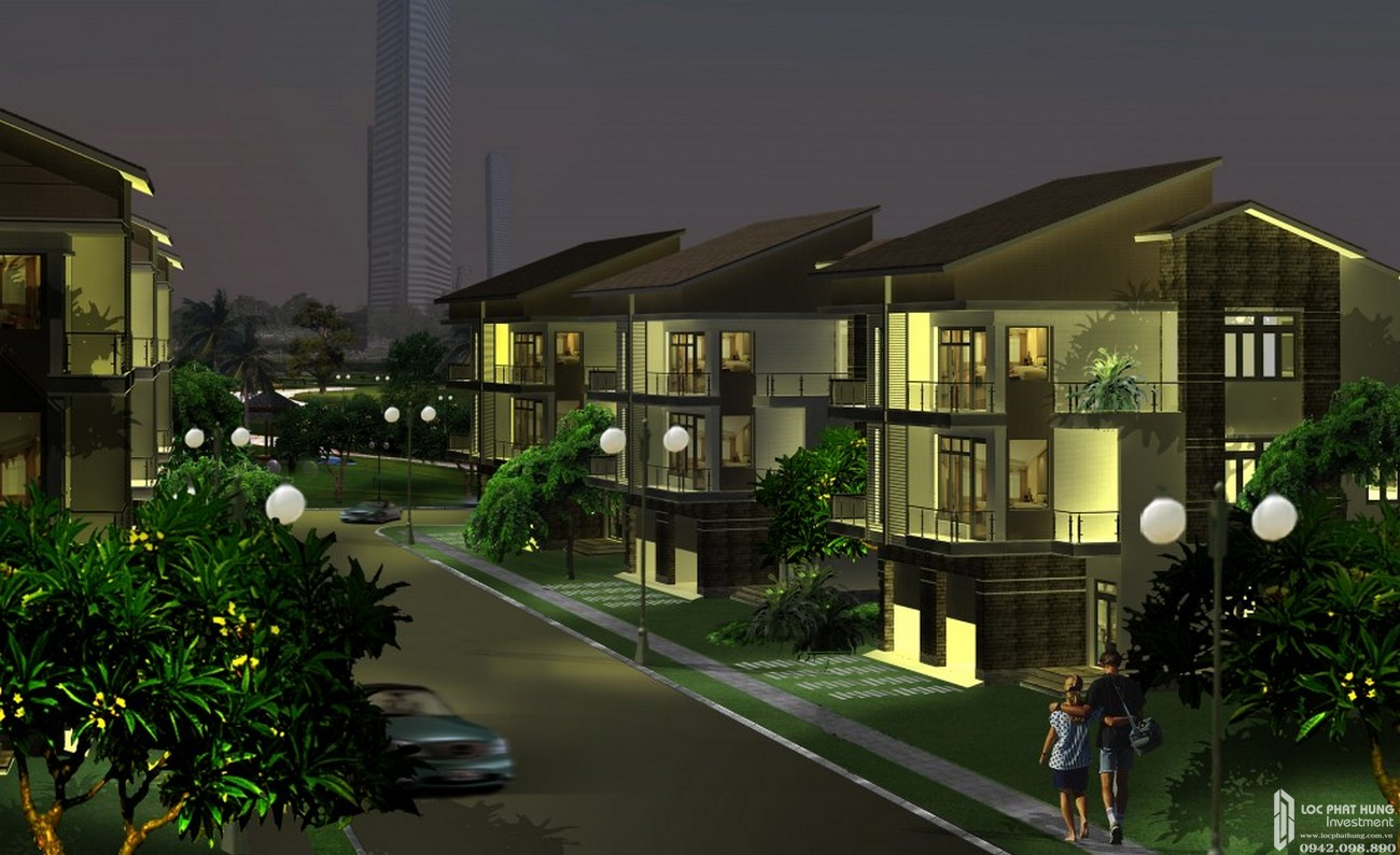 Nhà mẫu dự án nhà phố Topia Garden Quận 9 Đường Bưng Ông Thoàn chủ đầu tư Khang Điền