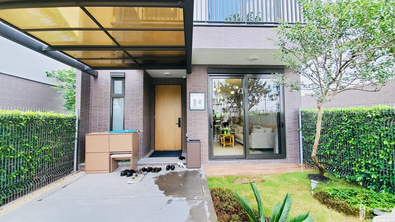Nhà mẫu nhà phố vườn dự án Waterpoint Long An Đường Tỉnh lộ 830 chủ đầu tư Nam Long