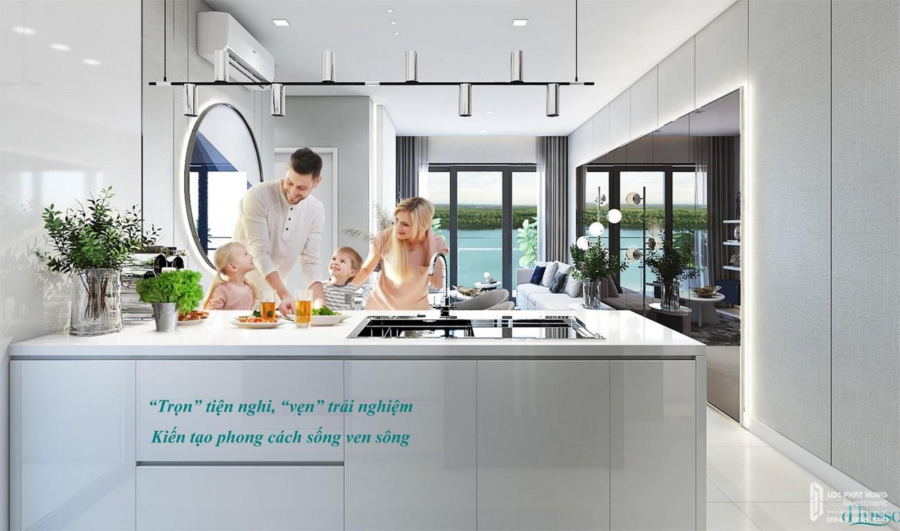 Nội thất dự án căn hộ chung cư Precia Quận 2 Đường Nguyễn Thị Định chủ đầu tư Minh Thông