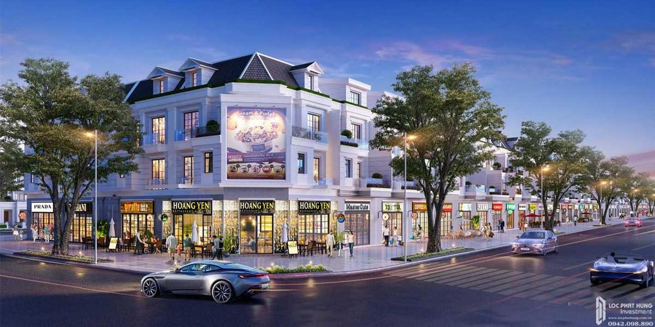 Phối cảnh tổng thể dự án nhà phố, đất nền Gem Sky World Long Thành Đường Quốc Lộ 51 chủ đầu tư Đất Xanh