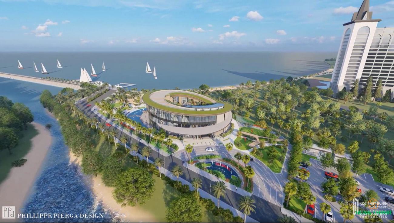 Phối cảnh tổng thể dự án căn hộ biệt thự Merry City Quy Nhơn chủ đầu tư Hưng Thịnh