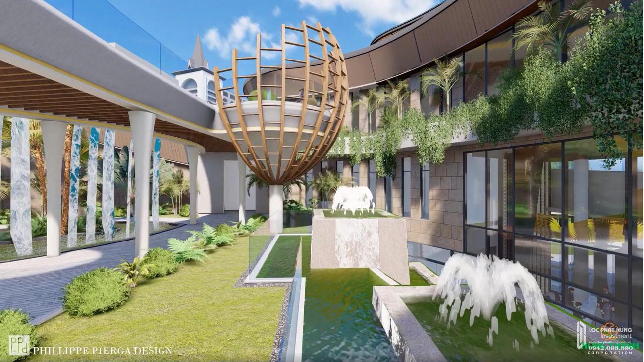 Tiện ích dự án căn hộ biệt thự Merry City Quy Nhơn chủ đầu tư Hưng Thịnh