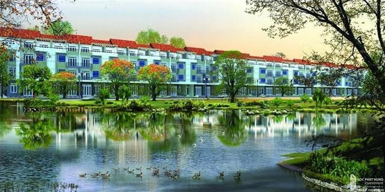 Phối cảnh tổng thể dự án nhà phố Topia Garden Quận 9 Đường Bưng Ông Thoàn chủ đầu tư Khang Điền