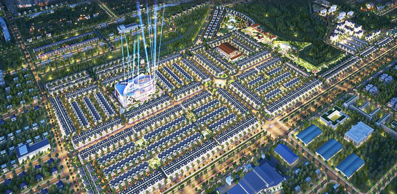 Phối cảnh Khu đô thị dự án Gem Sky World Long Thành Đường Quốc Lộ 51 chủ đầu tư Đất Xanh