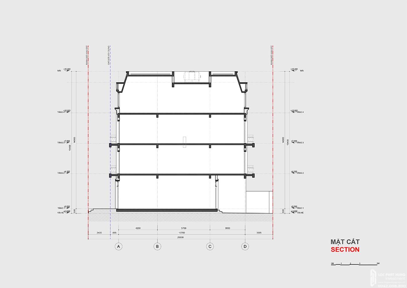Thiết kế Shophouse dự án thự Amelie Villa Phú Mỹ Hưng Nhà Bè Đường Huỳnh Tấn Phát chủ đầu tư Phú Mỹ Hưng