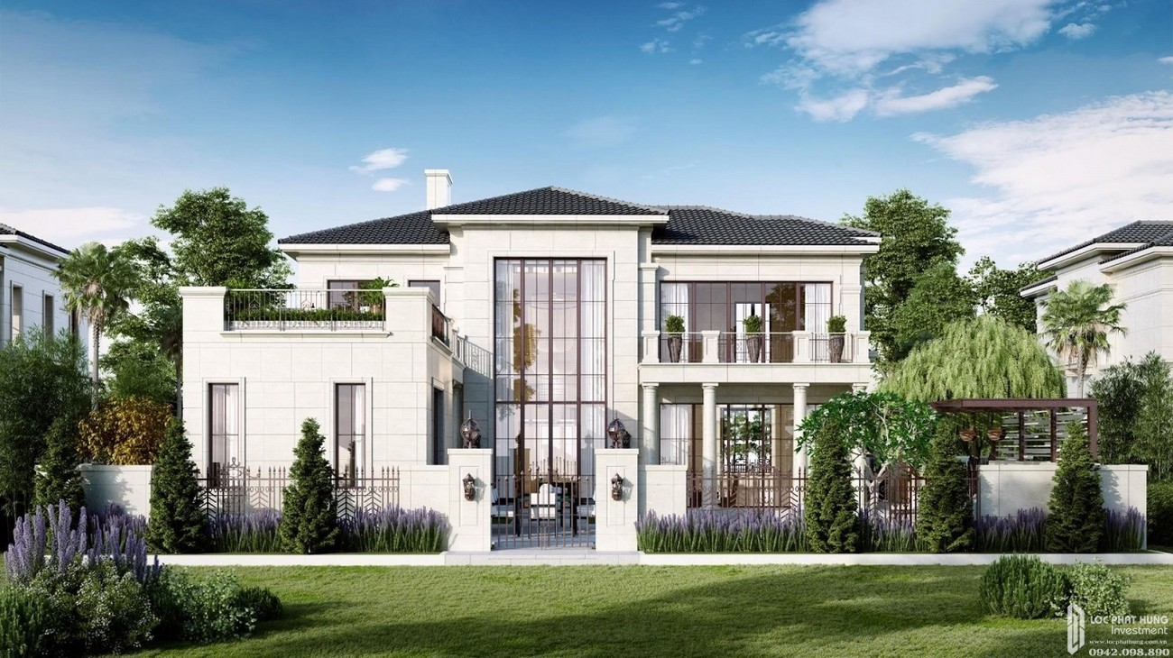 Thiết kế Dinh thự Swan Bay Nhơn Trạch Đường Đại Phước chủ đầu tư CFLD
