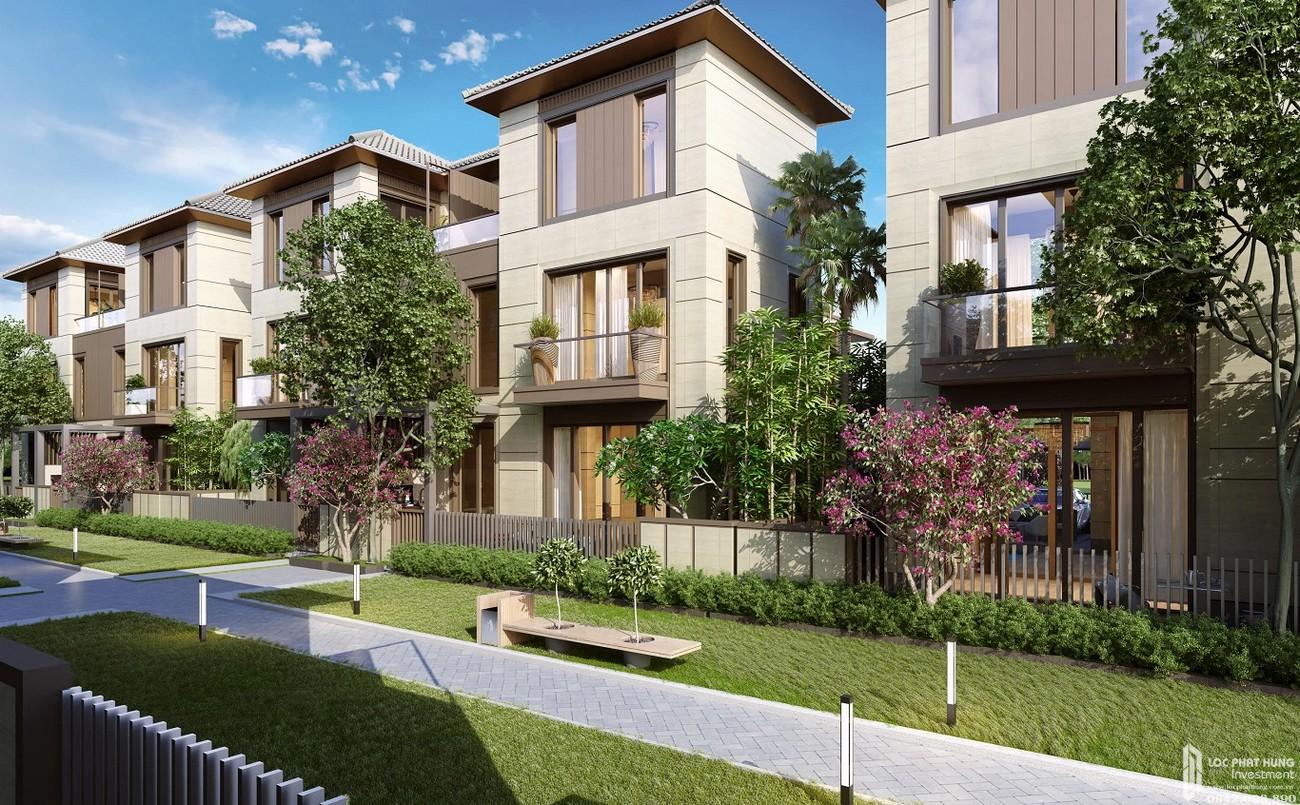 Thiết kế biệt thự song lập Swan Bay Nhơn Trạch Đường Đại Phước chủ đầu tư CFLD