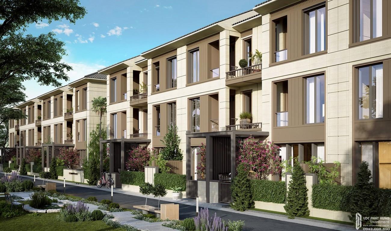 Thiết kế Nhà phố liền kề Swan Bay Nhơn Trạch Đường Đại Phước chủ đầu tư CFLD