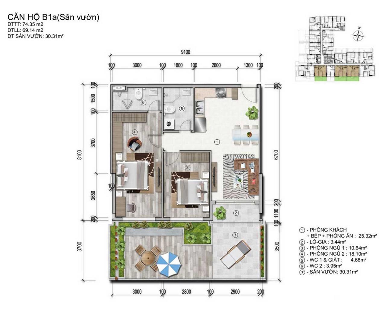 Thiết kế dự án căn hộ chung cư Venus Luxury Quận 5 Số 66 Đường Tân Thành chủ đầu tư Tân Thành