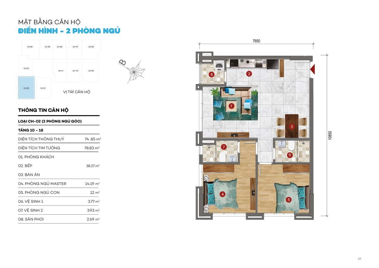 Thiết kế căn hộ chung cư ST Moritz Thủ Đức Đường Phạm Văn Đồng chủ đầu tư Đất Xanh