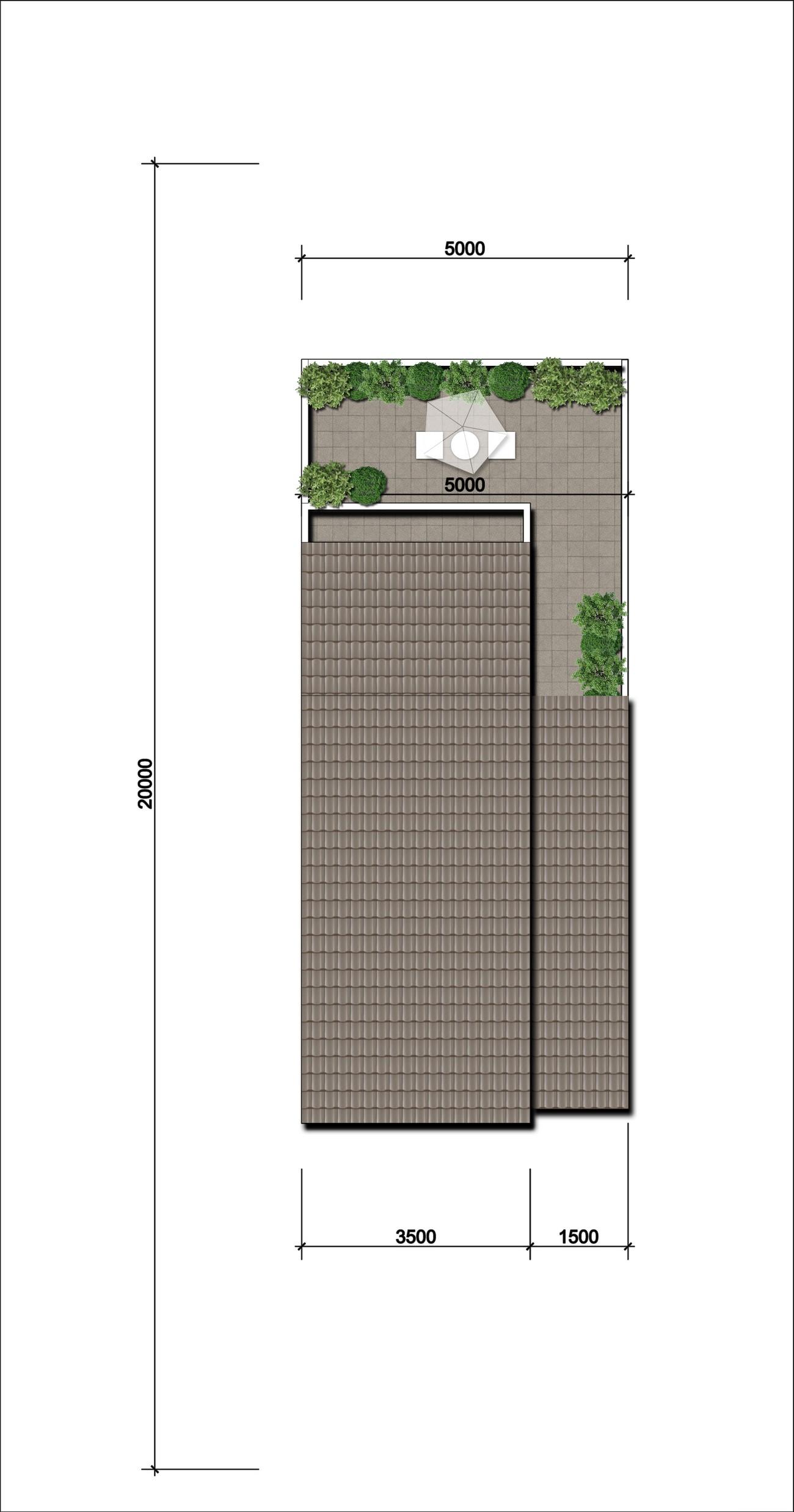 Thiết kế nhà liên kế 2 mái Gem Sky World Đất Xanh Đường Quốc Lộ 51 Long Thành