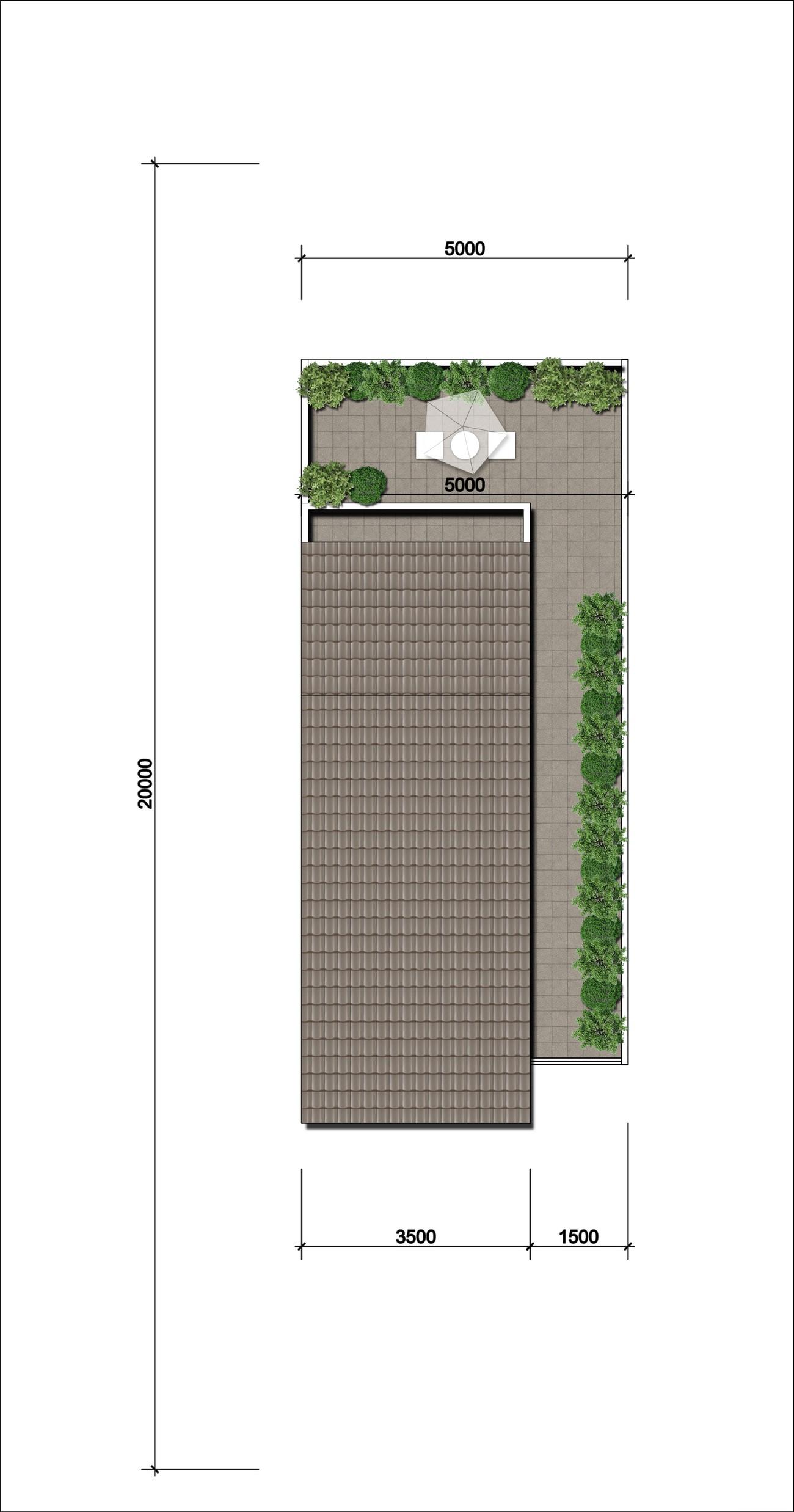 Thiết kế nhà liên kế 1 mái Gem Sky World Đất Xanh Đường Quốc Lộ 51 Long Thành