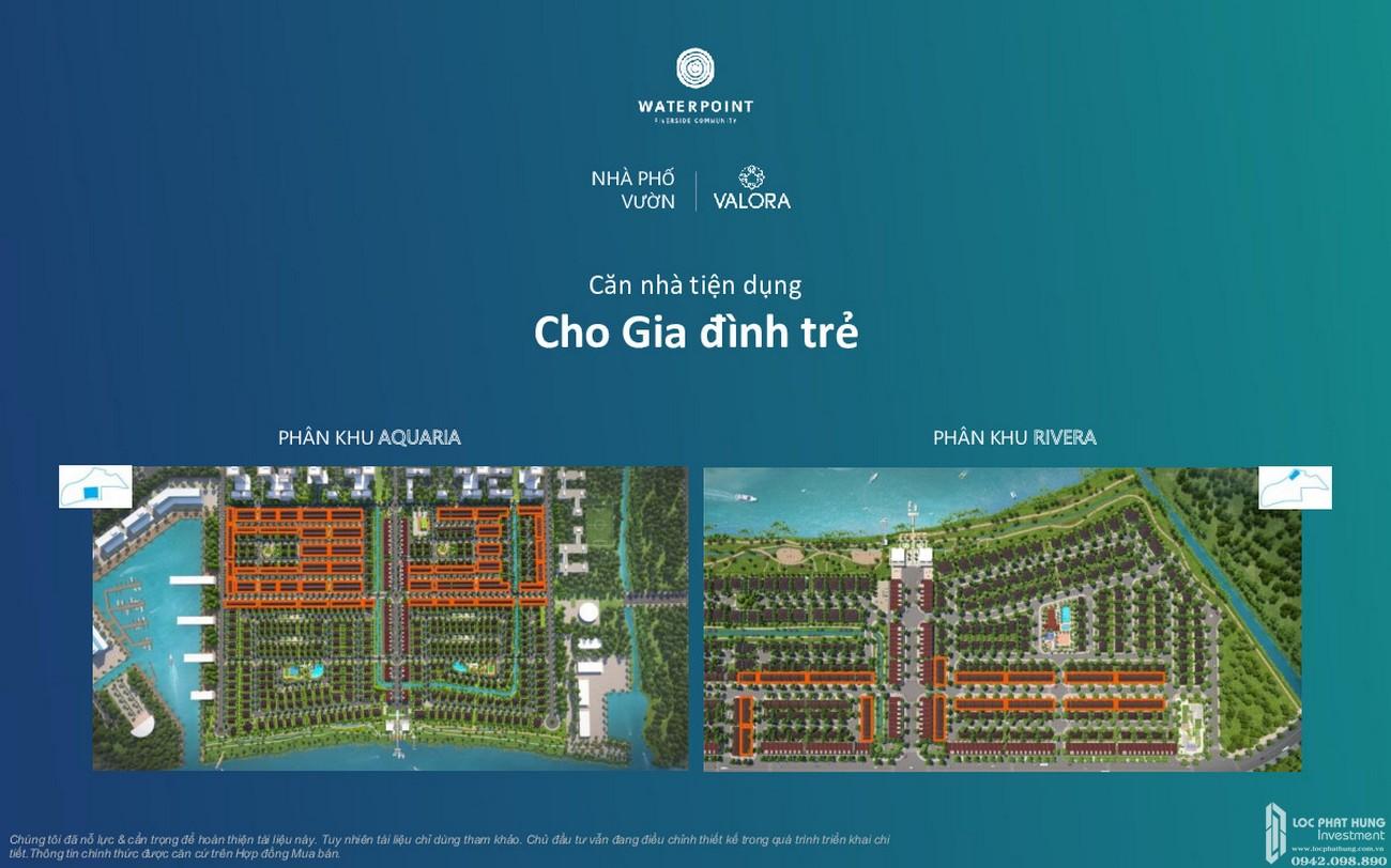 Thiết kế nhà phố vườn Waterpoint Long An Đường Tỉnh lộ 830 chủ đầu tư Nam Long
