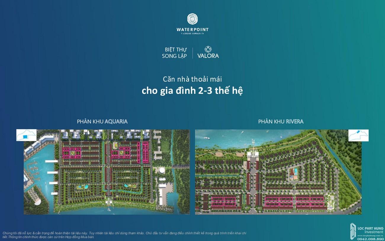 Thiết kế Biệt thự song lập Waterpoint Long An Đường Tỉnh lộ 830 chủ đầu tư Nam Long