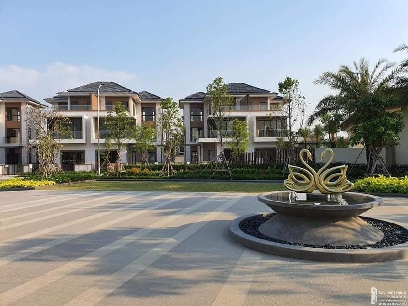 Tiến độ dự án Nhà Phố biệt thự Swan Bay Nhơn Trạch 11/05/2020 Đường Đại Phước chủ đầu tư CFLD