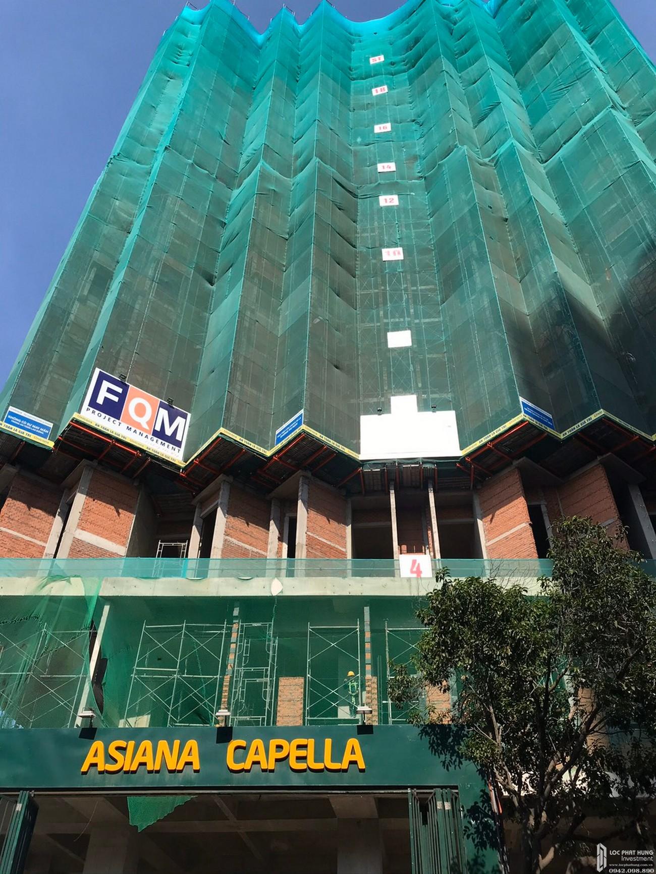 Tiến độ dự án căn hộ chung cư Asiana Capella 09/05/2020 Quận 6 Đường Trần Văn Kiểu chủ đầu tư Gotec Land