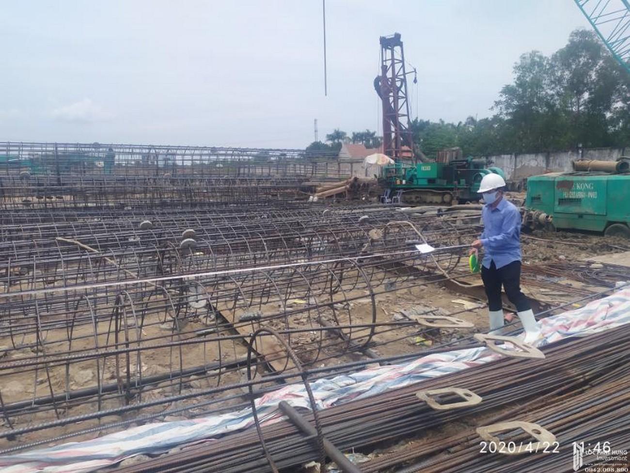 Tiến độ dự án căn hộ chung cư La Partenza Nhà Bè 04/2020